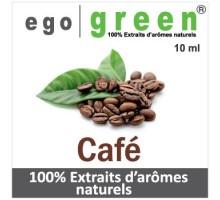 Eliquide Goût Café, Ego green