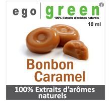 Eliquide Goût BONBON CARAMEL, Ego green
