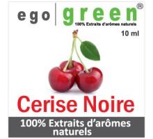 Eliquide Goût CERISE NOIRE, Ego green