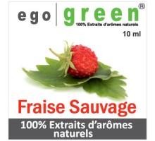 Eliquide Goût FRAISE SAUVAGE, Ego green