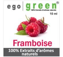 Eliquide Goût FRAMBOISE , Ego green
